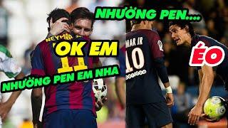 Bất ngờ với khoảnh khắc siêu sao Ronaldo và Messi nhường bóng cho đồng đội lập công