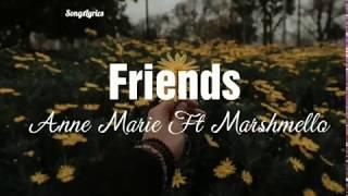 Friends | Anne Marie Ft Marshmello ( Traducido al español)