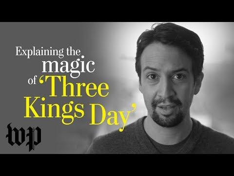 Opinion  Lin-Manuel Miranda explains the magic of Three Kings Day