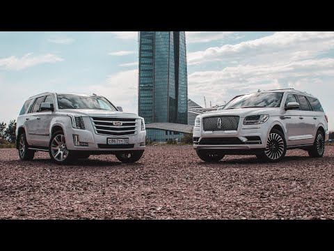Битва Титанов Lincoln Navigator VS Cadillac Escalade! на русском LincolnNavigator.Club