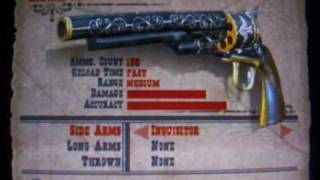 Red Dead Revolver All Weapons