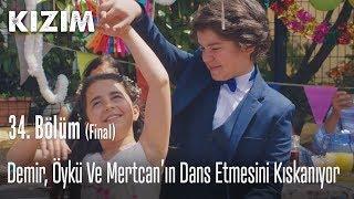 Demir, Öykü ve Mertcanın dans etmesini kıskanıyor - Kızım 34. Bölüm (Final)