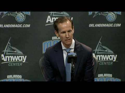 Orlando Magic - Jeff Weltman - Introductory press conference (Part 1 of 4)