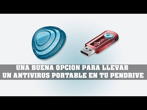 UNA BUENA OPCION PARA LLEVAR UN ANTIVIRUS PORTABLE EN TU PENDRIVE