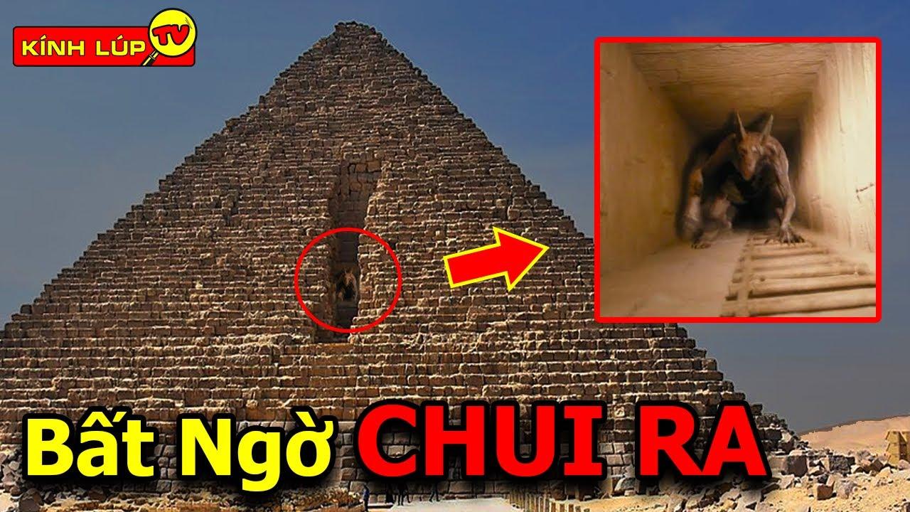 🔥 9 Bí Ẩn Ly Kỳ Và Đáng Sợ Giấu Sau Kim Tự Tháp Ai Cập Mà Mọi Người Không Hề Hay Biết | Kính Lúp TV