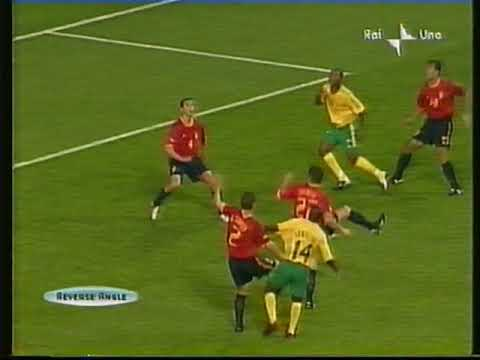 Mondiali 2002 Sudafrica-Spagna 2-3 - World Cup 2002 South Africa-Spain 2-3 Highlights