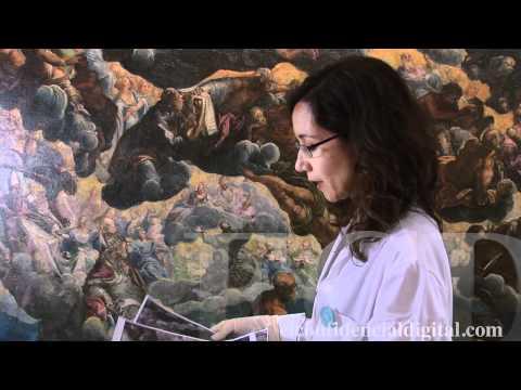 Así arranca la restauración de un Tintoretto