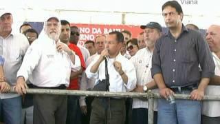 Inauguração BR 235 - 29-10-2011 parte 2 - Remanso Bahia