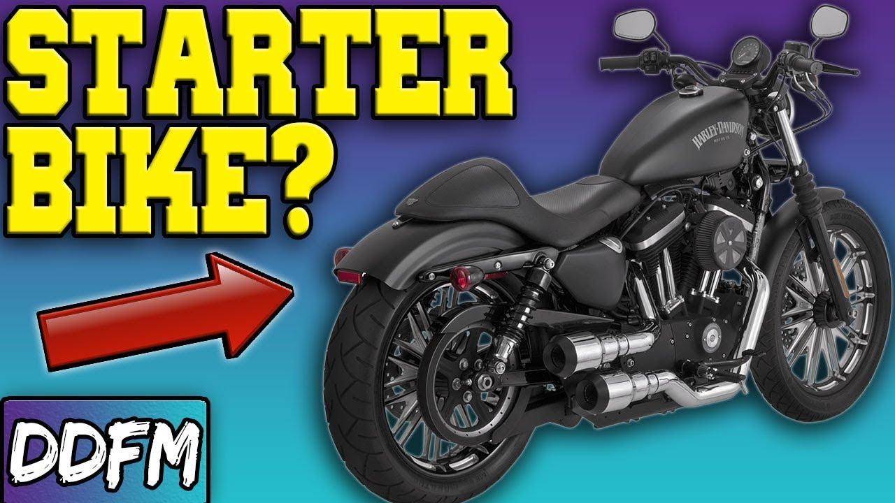 The Harley Sportster As A Starter Bike Youtube