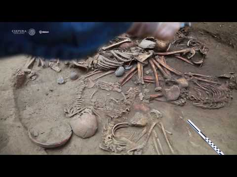 Una aldea de hace 2400 años en Tlalpan