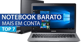 Top 7 notebooks mais baratos - Guia Shop