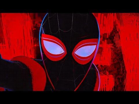 Майлз Моралес против Кингпина / Финальная битва / Привет! Человек-паук: Через вселенные. 2018