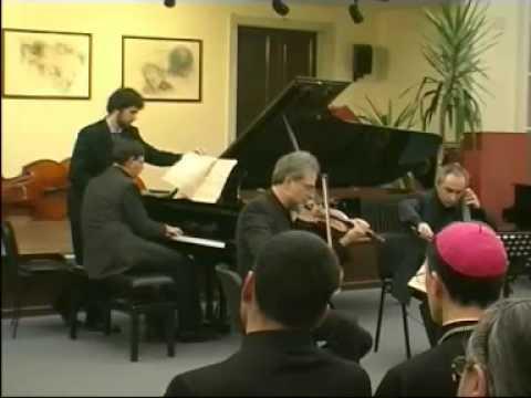 M. RAVEL -TRIO-(3 e 4 mov.) Trabucco Trio