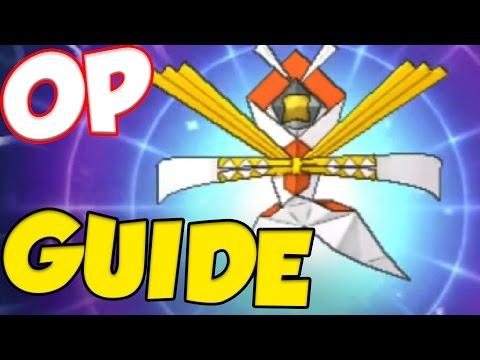 KARTANA - STRONGEST PHYSICAL POKEMON EVER! Pokemon Sun and Moon Kartana Moveset and Kartana Guide