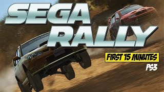 Sega Rally (REVO) PS3  (First 15 Minutes) Ep. 4