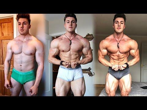 Brandon Harding 90 Day Transformation (216lbs 193lbs)