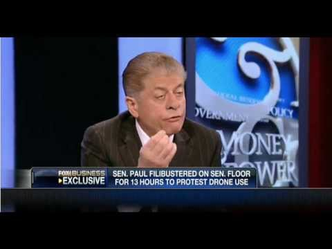 """Judge Napolitano On If Rand Paul Changed Position On Drones: """"Answer Is An Unequivocal No"""""""