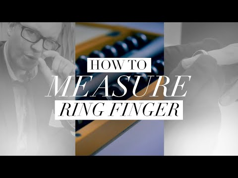 how-to-measure-your-ring-finger-||-best-method