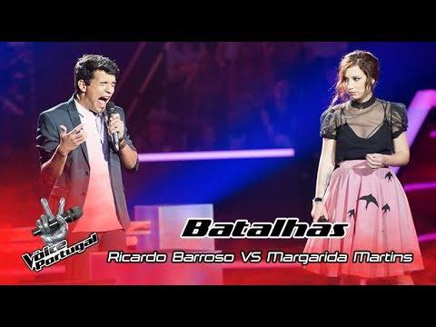 "Ricardo Barroso VS Margarida Martins – ""Dancing on my own"" | Batalha | The Voice Portugal"