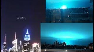 OVNI sobre la ciudad de Nueva York provoca la explo_sión de transformadores