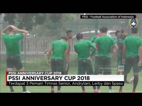 Ini Skuat Timnas Indonesia di PSSI Anniversary Cup 2018, Lawan Uzbeskistan, Bahrain & Korut