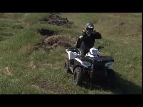 Polaris SPORTSMAN TOURING 570 EFI и Polaris RANGER 570 EFI тест-драйв