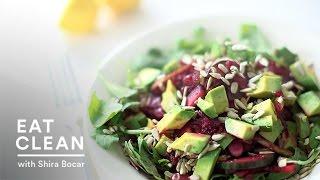Mixed Beets Slaw And Arugula Salad Recipe - Eat Clean With Shira Bocar