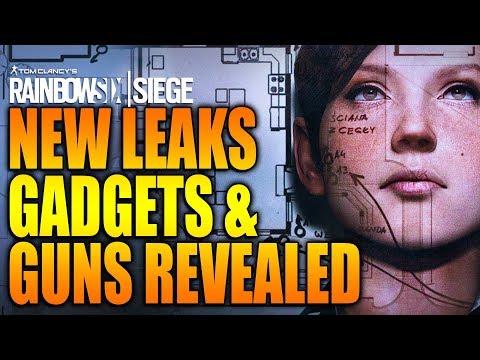 Rainbow Six Siege - In Depth: NEW Leaks, Guns & Gadgets REVEALED! Operation White Noise
