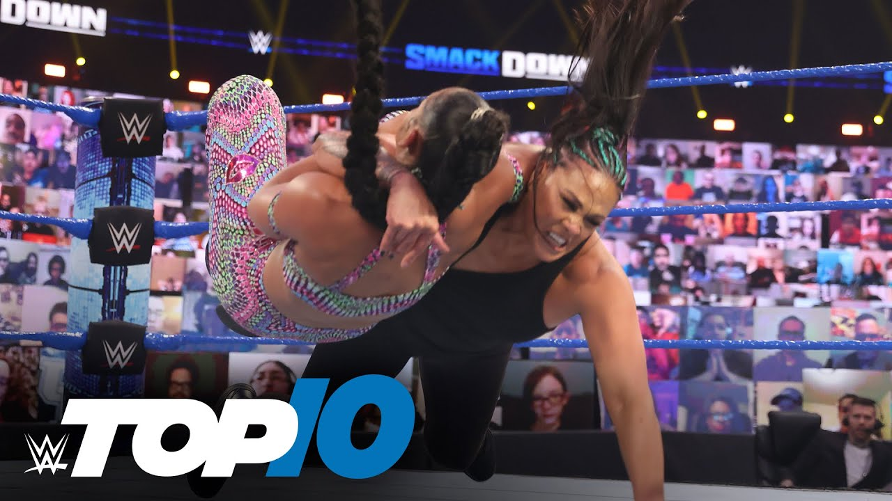 Top 10 Friday Night SmackDown moments: WWE Top 10, March 19, 2021