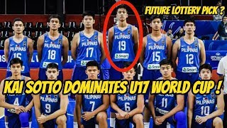 This 16 year old Philippine basketball player dominated the U17 World Cup!