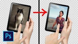 Анимация перелистывания картинок в фотошопе