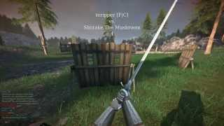 Chivalry Medieval Warfare Tactics: The Reverse Overhead, aka The Rainbow