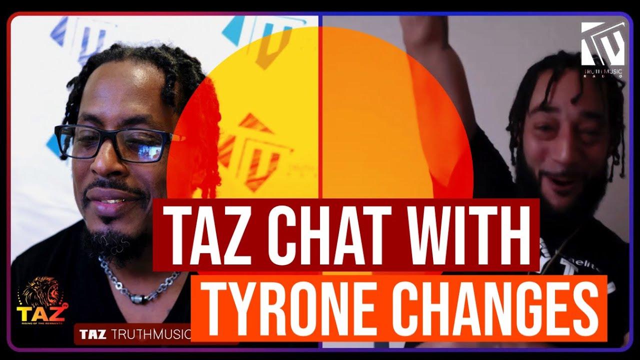 Taz talks with Tyrone Changes | Raw Talent