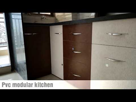 Pvc modular kitchen Furniture | 9725200342 | kaka Pvc Wardrobe slaiding shater | PVC crockery unit