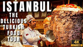 The Best Delicious Turkish Food Tour In Istanbul City |April 2021|4k UHD 60fps