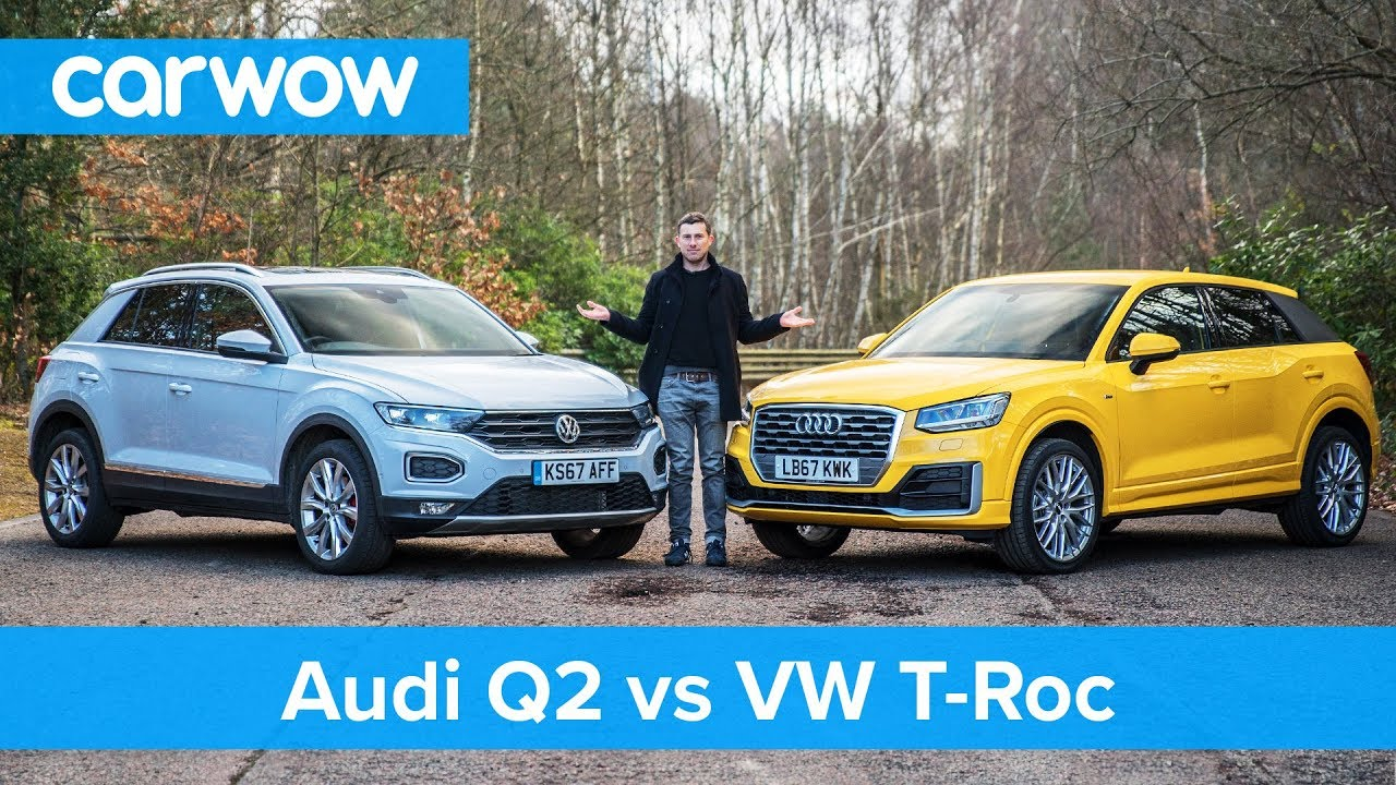 Vw T Roc Vs Audi Q2 Review Which Is Best Carwow Youtube