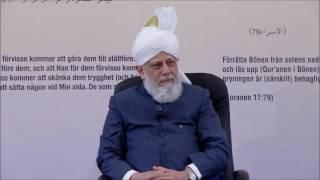 Le calife de l'islam s'addresse aux jeunes de la suède - 2016