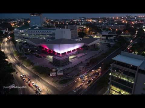 Accra-Ghana Skyline Timelapse (National Theatre) by Kofi Pong Fiifi