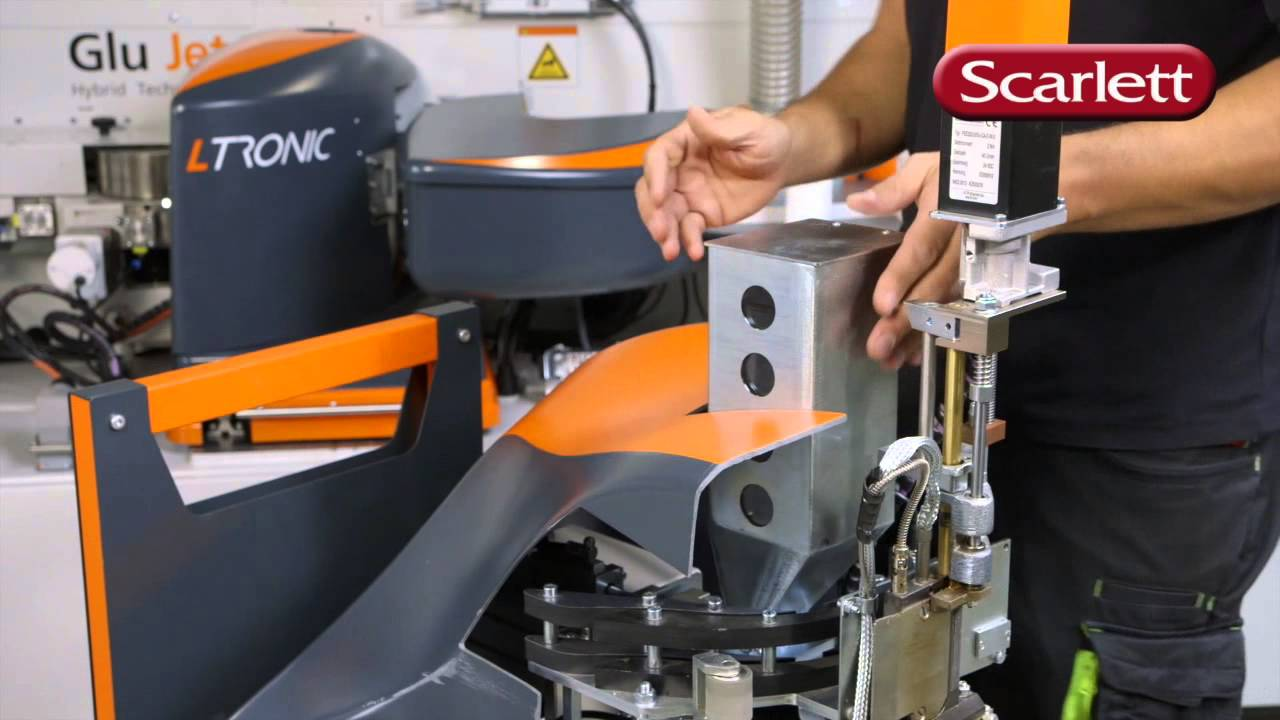 Holzher Glu Jet and LTRONIC from Scarlett Machinery