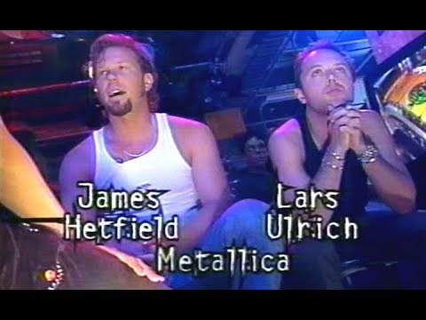 Much Music Interview with Metallica's James & Lars (1998) [TV Broadcast]