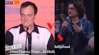 Quentin Tarantino vs feministka