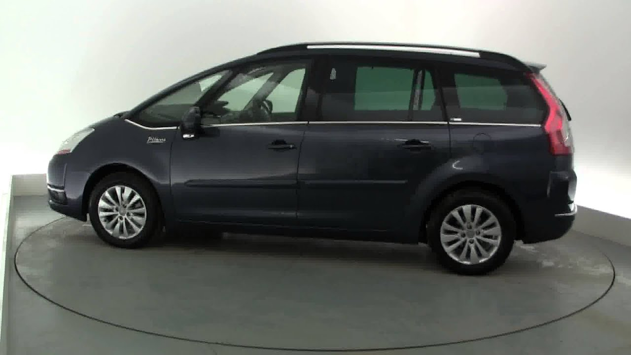 2009 citroen c4 grand picasso exclusive hdi egs youtube. Black Bedroom Furniture Sets. Home Design Ideas