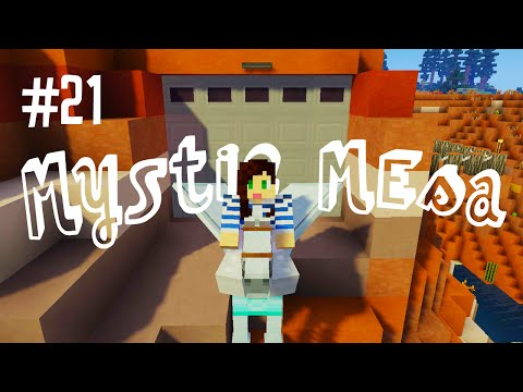 PEGASUS GARAGE! - MYSTIC MESA MODDED MINECRAFT (EP.21)