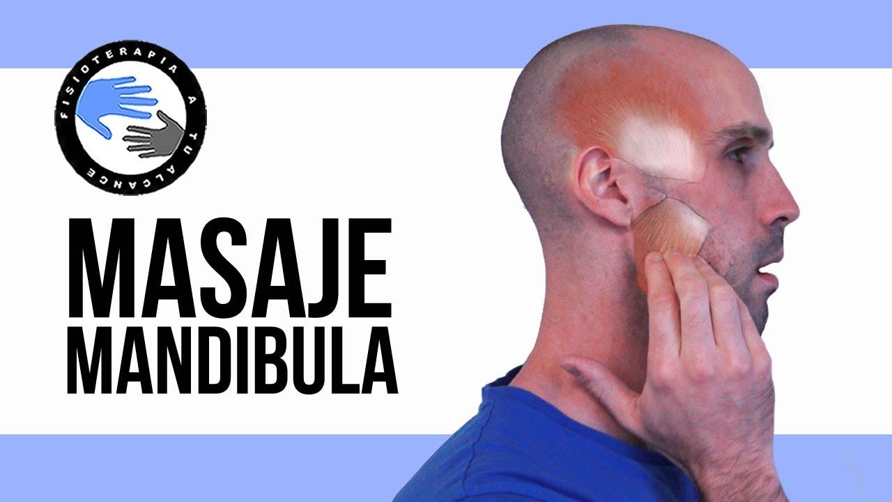 Masaje De Mandibula Para El Bruxismo O La Disfuncion De La Atm O Articulacion Temporomandibular Youtube