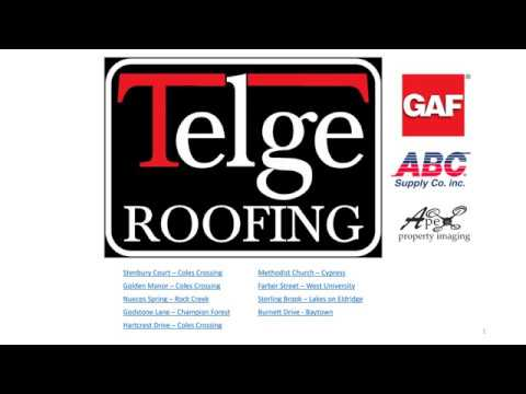 Telge Roofing Solution for Realtors