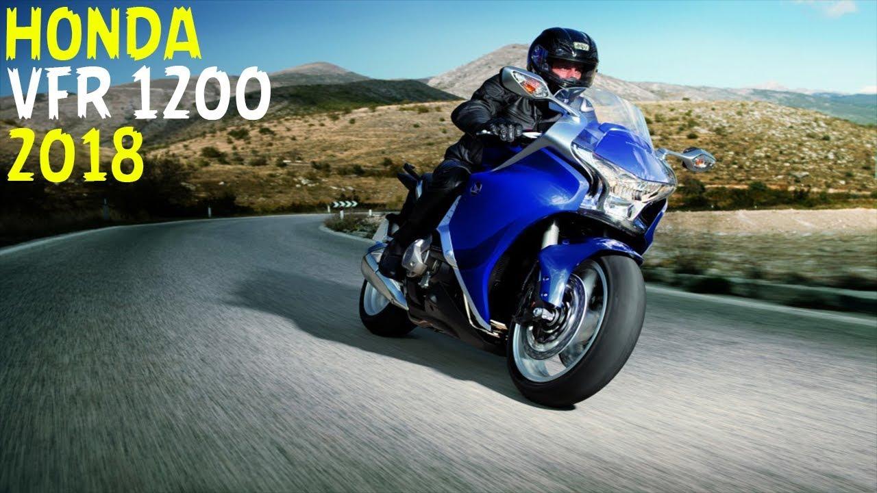 Nova Honda VFR 1200 2018 + Top Speed - YouTube