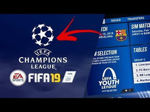 CHAMPIONS LEAGUE IN FIFA 19?  WHAT IF IT WAS ON FIFA CAREER MODE?!