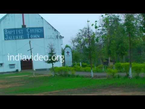Baptist Church in Jalukie, Nagaland