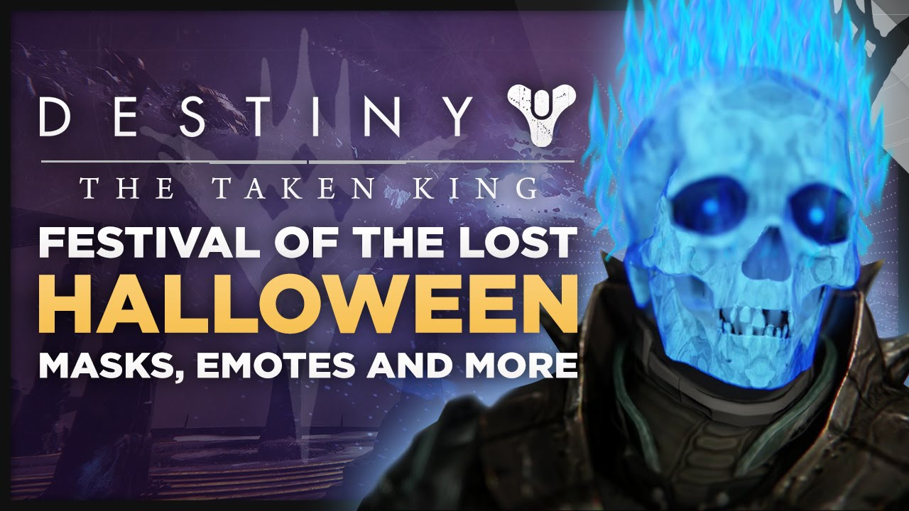 Destiny: The Taken King - 'Festival Of The Lost' Halloween Event ...