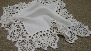 Repeat youtube video Orilla # 25 Crochet
